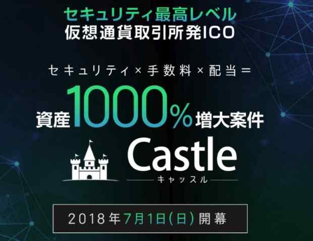 西田尚樹|「仮想通貨取引所発ICO」 Castle 詐欺なのか?本当に稼げるのか?
