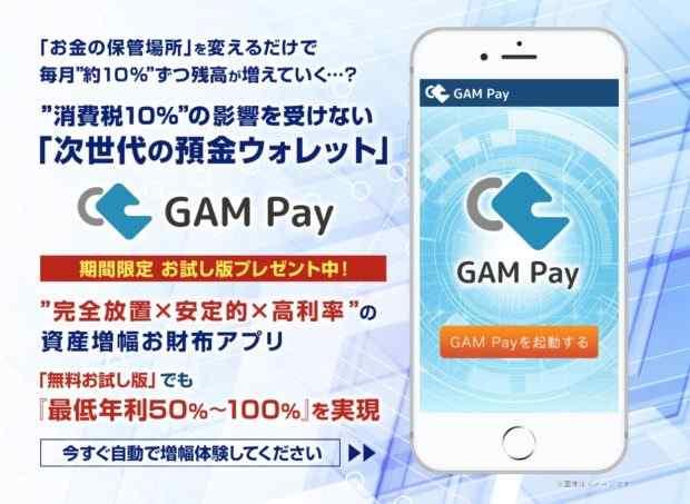 菅野けい|次世代の預金ウォレット【GAM Pay】は本当に稼げるのか?詐欺なのか?