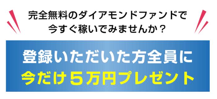 【ダイヤモンドファンド】画像3