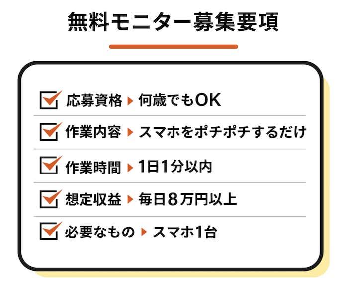 「【権利収入】毎日8万円キャンペーン」画像2